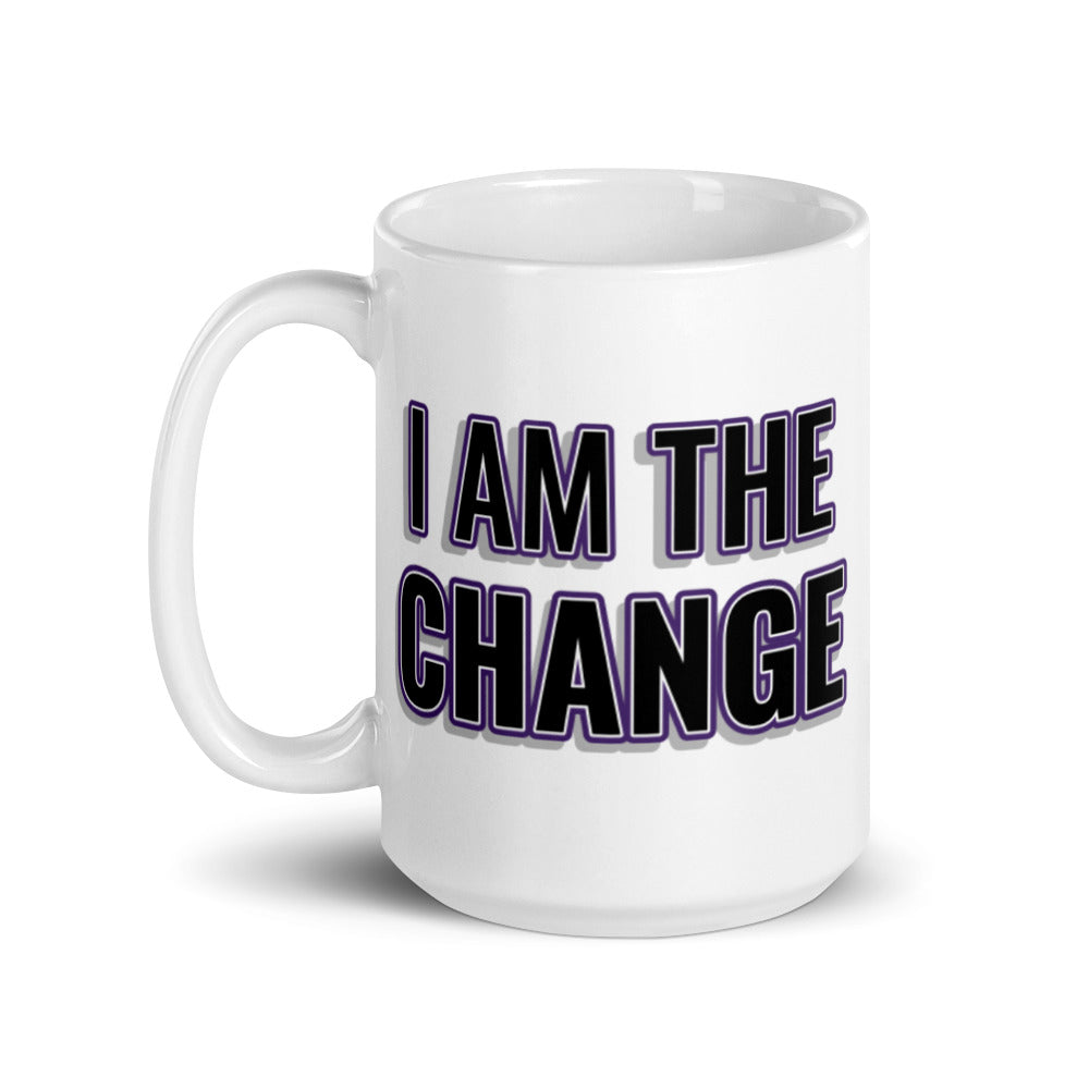 Load image into Gallery viewer, Be The Change Steve Harvey Mug