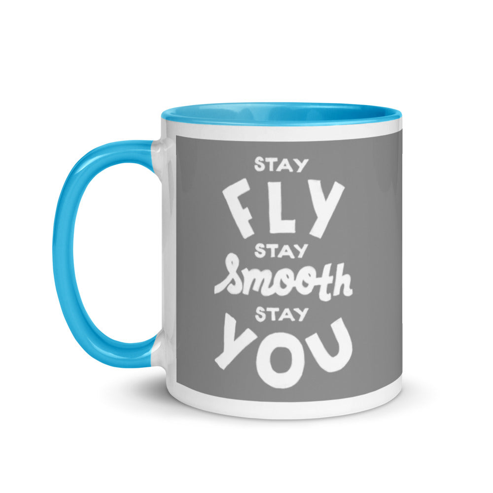 Load image into Gallery viewer, Stay Fly, Stay Smooth, Stay You Steve Harvey Mug