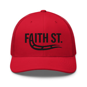 Load image into Gallery viewer, Faith Street Steve Harvey Trucker Hat