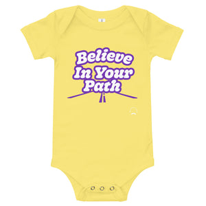Load image into Gallery viewer, Believe in Your Path Baby Onesie