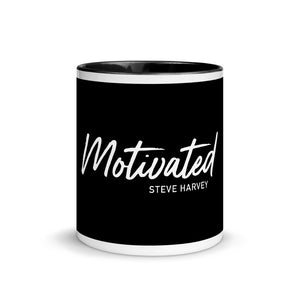 Load image into Gallery viewer, Motivated Black Mug