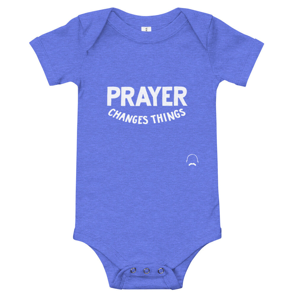 Load image into Gallery viewer, Prayer Changes Things Onesie