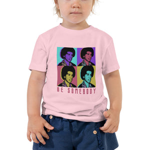 Load image into Gallery viewer, Steve Harvey 'Be Somebody' Warhol Toddler T-Shirt
