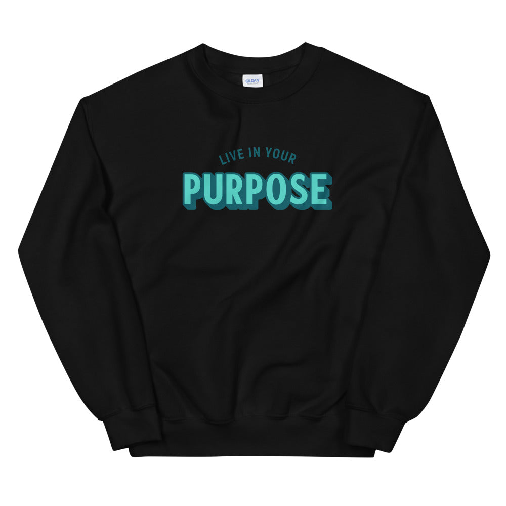Load image into Gallery viewer, Retro Purpose Limited Edition Unisex Sweatshirt