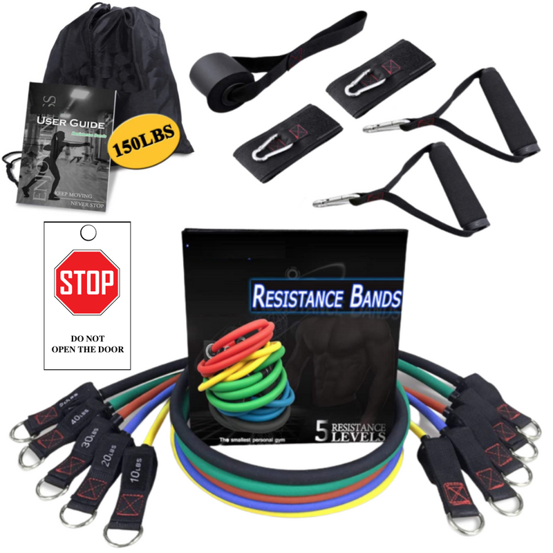 PWRBODY 13 Pcs Resistance Band Set