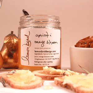 Apricot Orange Blossom Cheese Syrup