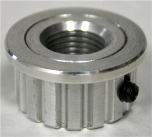Aluminum Pulley - 16 XL Threaded  *** CURRENTLY BACK ORDERED UNTIL JUNE 30, 2021 ***