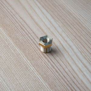 Carriage Nut - Brass 3/8-16 (For Older Style FX Lifts)   *** CURRENTLY BACK ORDERED UNTIL JUNE 30, 2021 ***