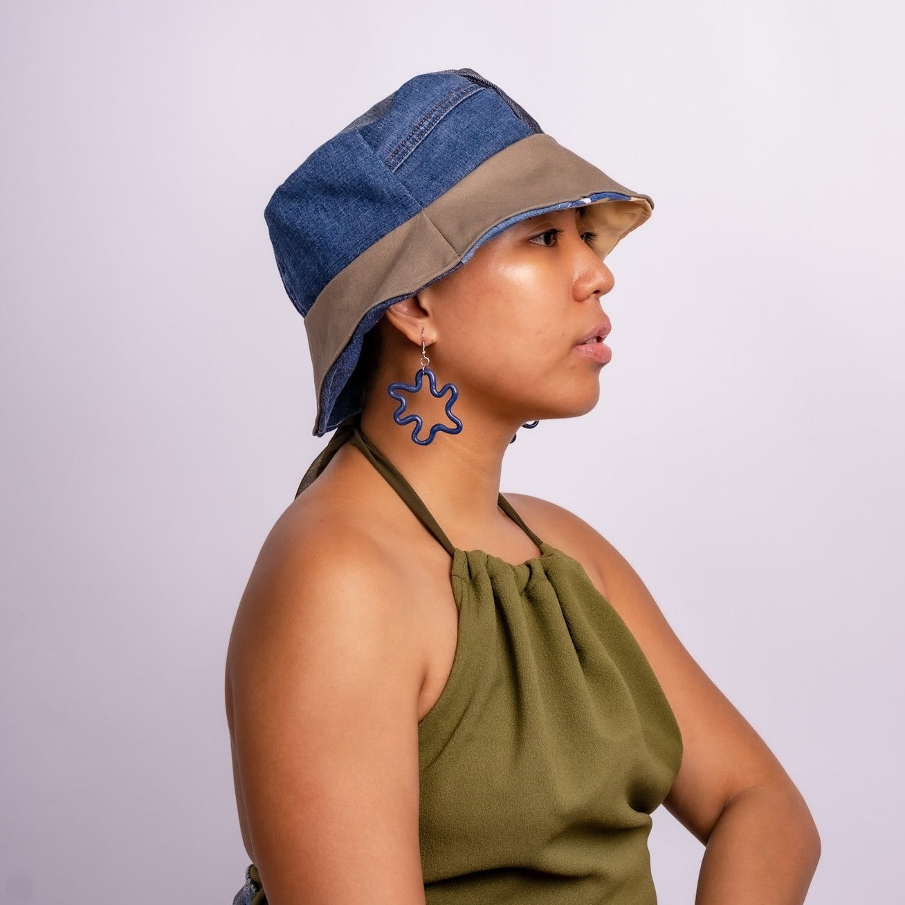 Damn Denim! Reversible Bucket Hat