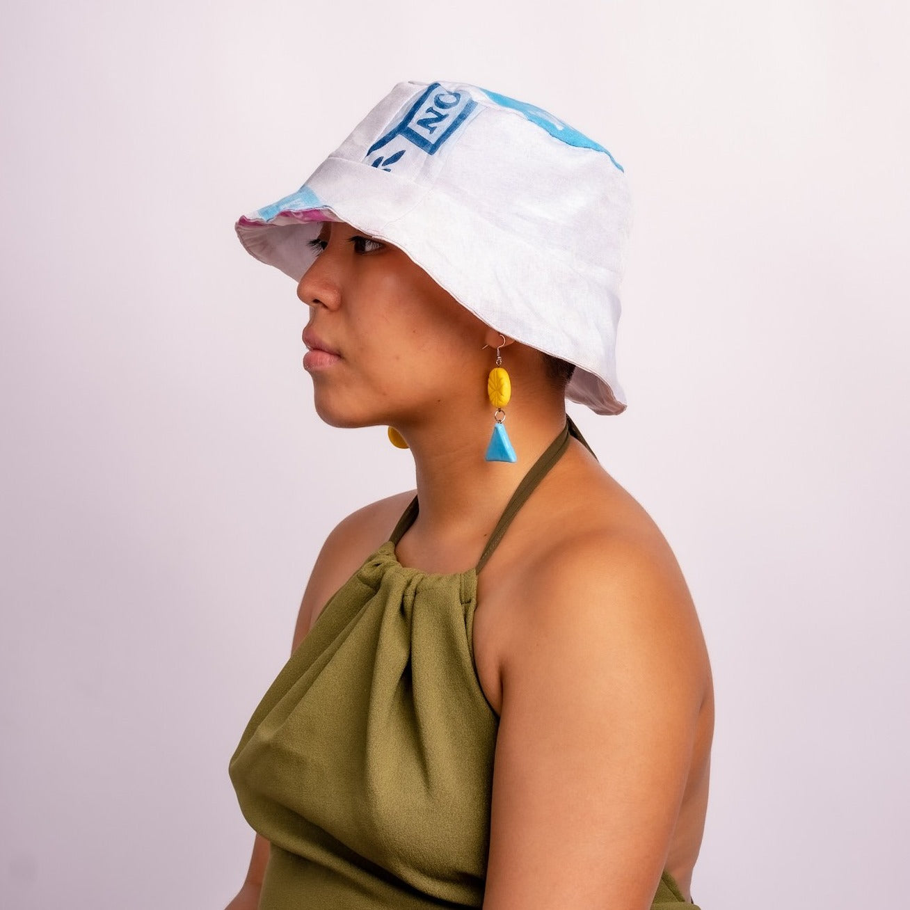 Flour Power Reversible Bucket Hat
