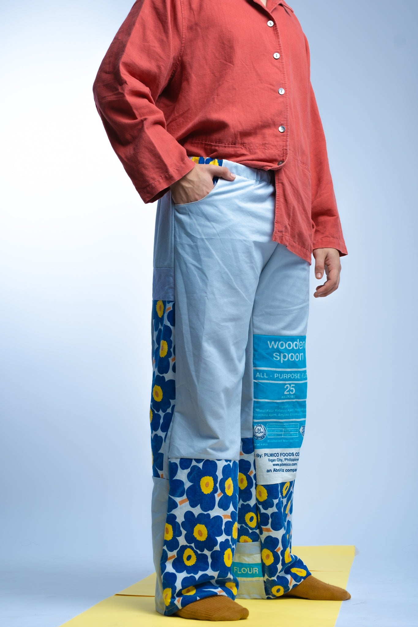PANTS- Kurtina x Flour Power Retaso Combo (Blues + Browns)