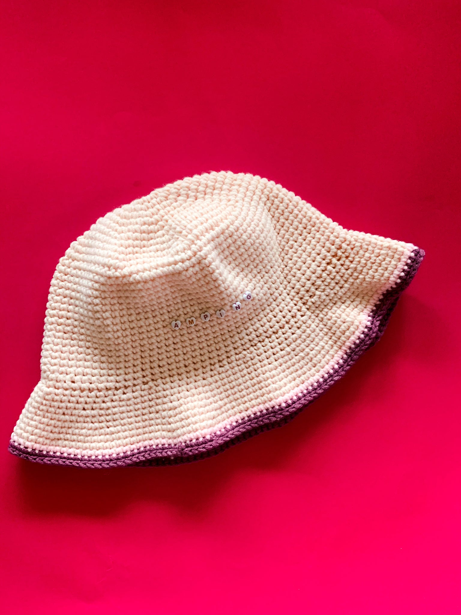 'Amping' Crocheted Bucket Hat - by Tetel