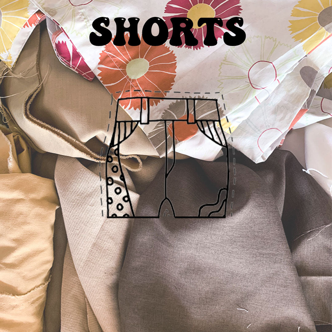SHORTS - Kurtina Retaso Combo (Beiges & Browns)