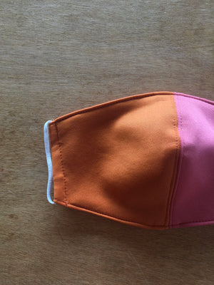 #RIOsable Mask - NEO in Pink & Orange