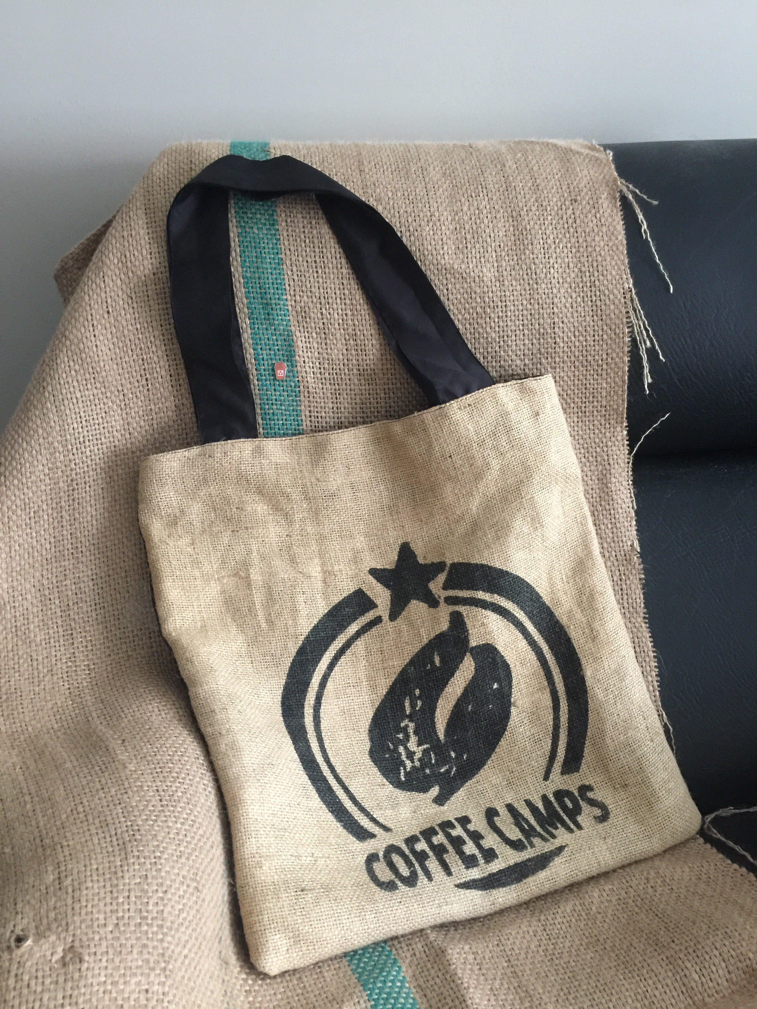 TOTEdo Na TOTEs Bag - Yardstick Coffee Collab - Black Coffee Camps