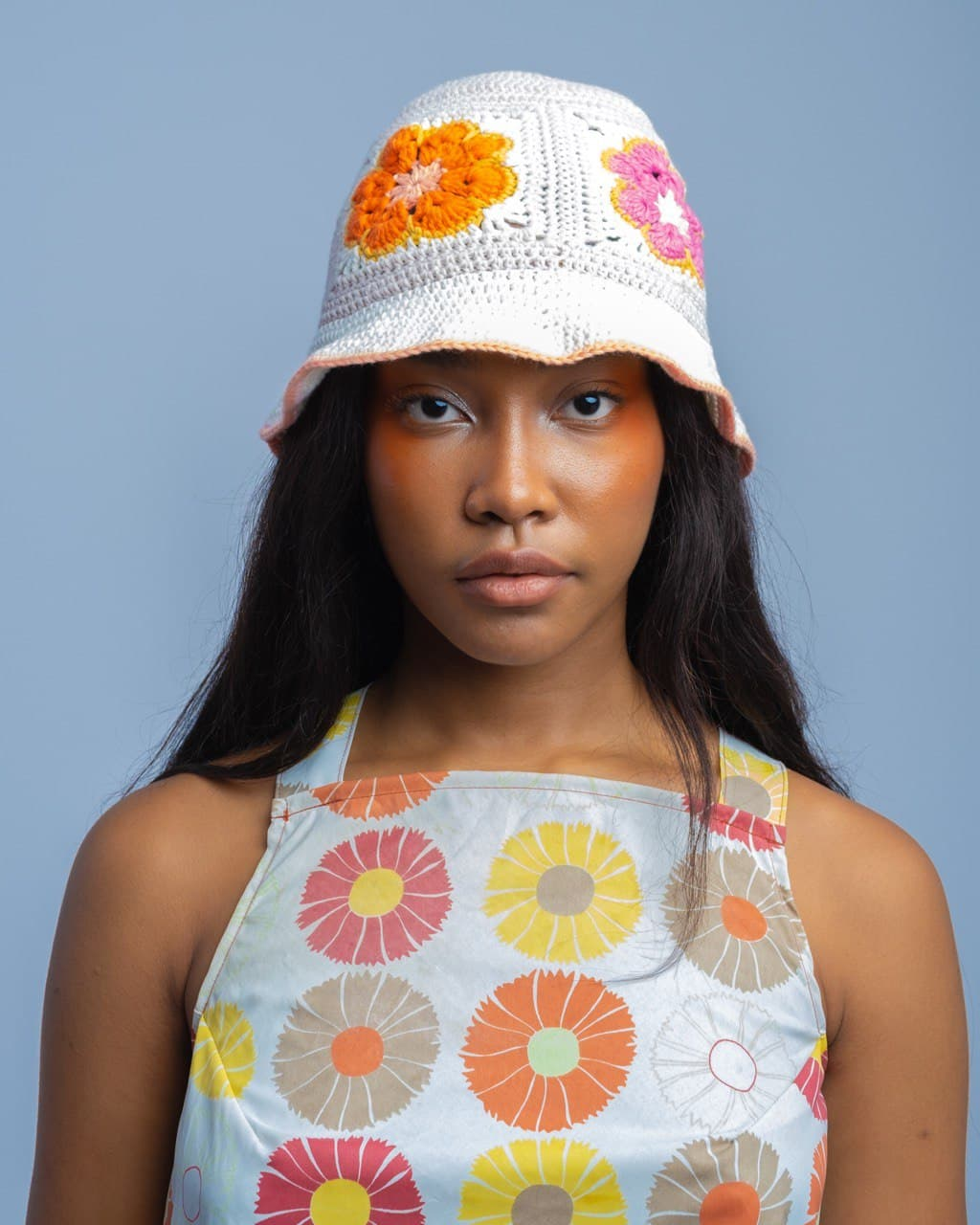 Kurtina Crocheted Bucket Hat - by Tetel