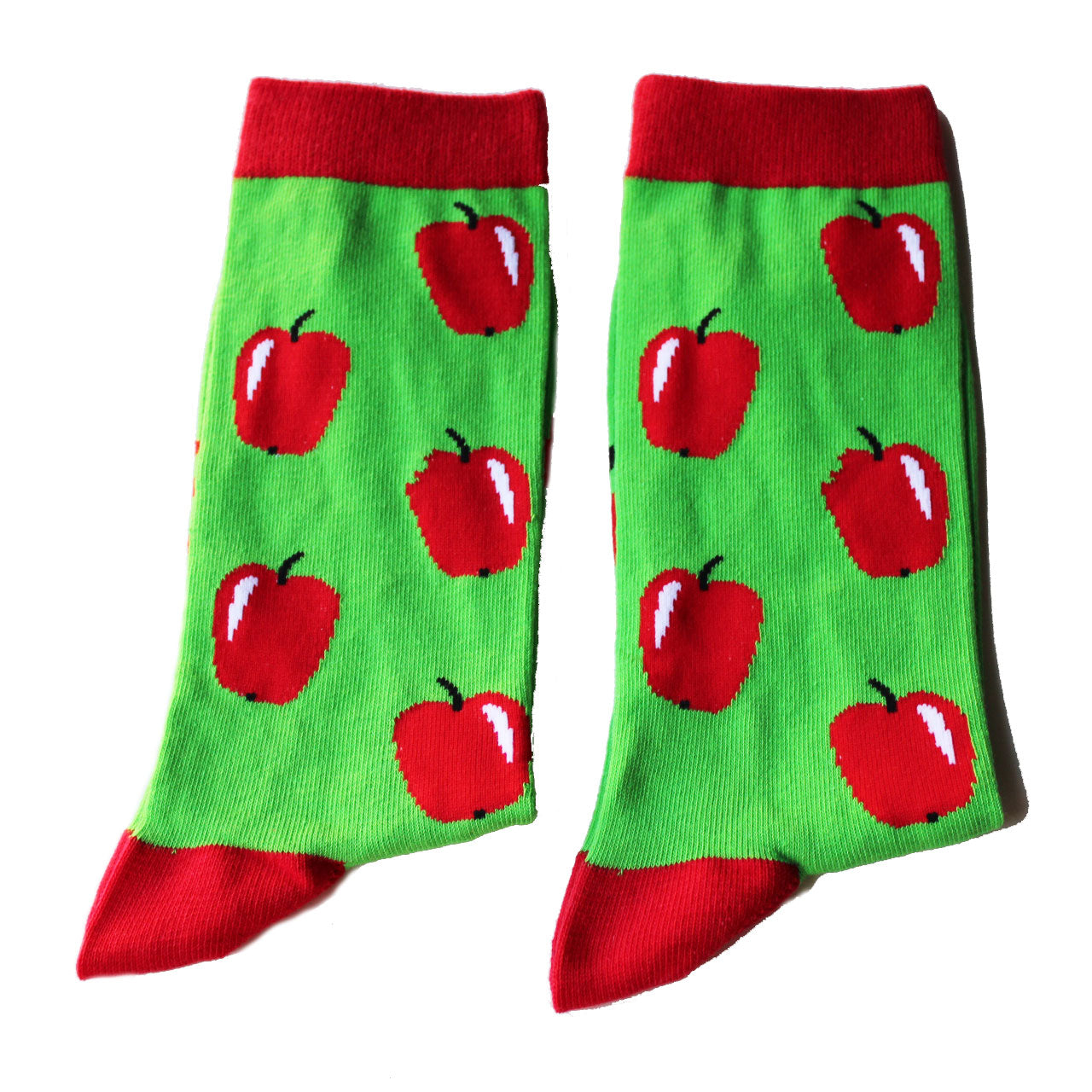 Apple Socks all sizes available Jolly Soles