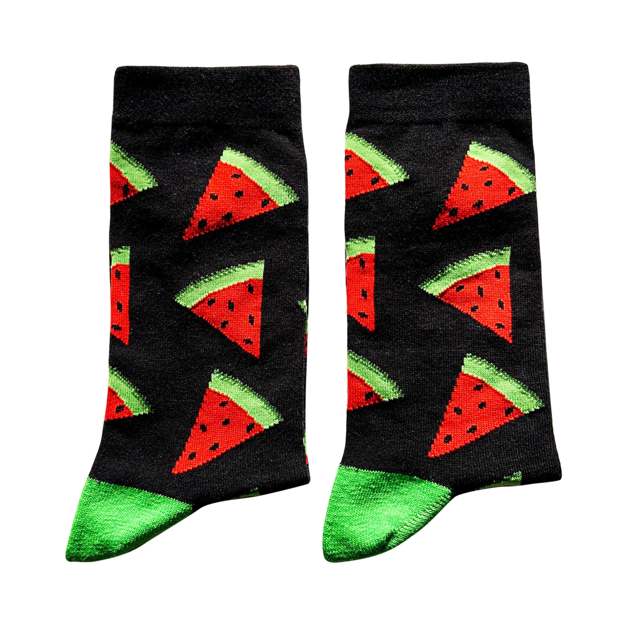 Jolly Soles Black with Watermelon Extra Large