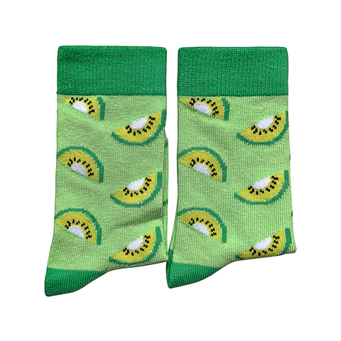 Extra Small - Kiwi Fruit Socks