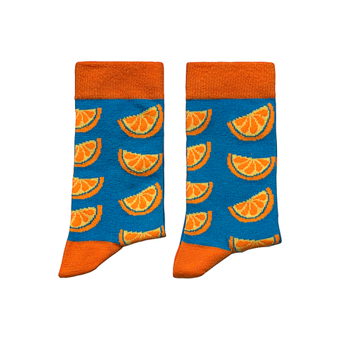 Small - Orange Socks