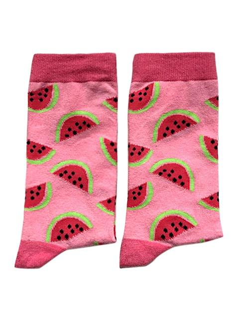 Watermelon Socks - Medium-Individuals-[fundraiser]-Jolly Soles