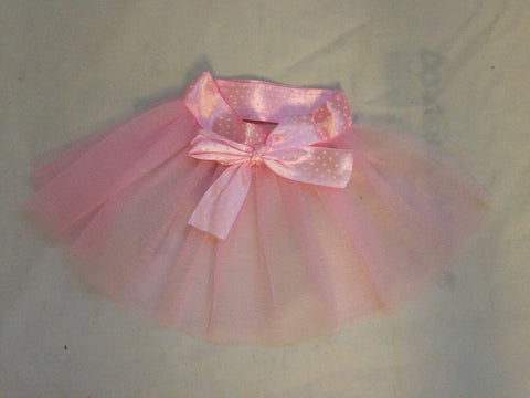 Pink Skirt with Chiffon