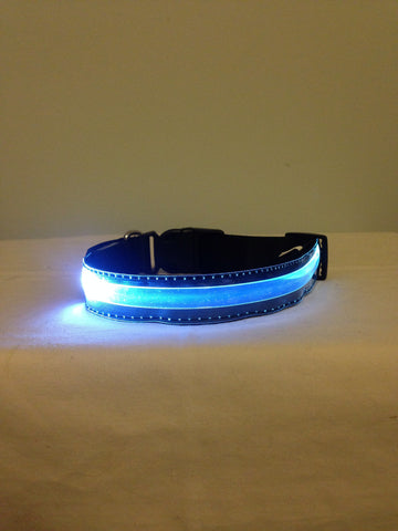 LED Collar - Print your Dog's Name on it