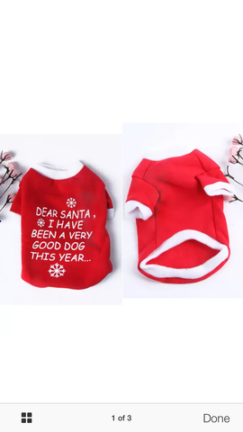 """Dear Santa....."" Christmas Sweater"