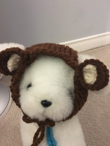 Knit Bear hat