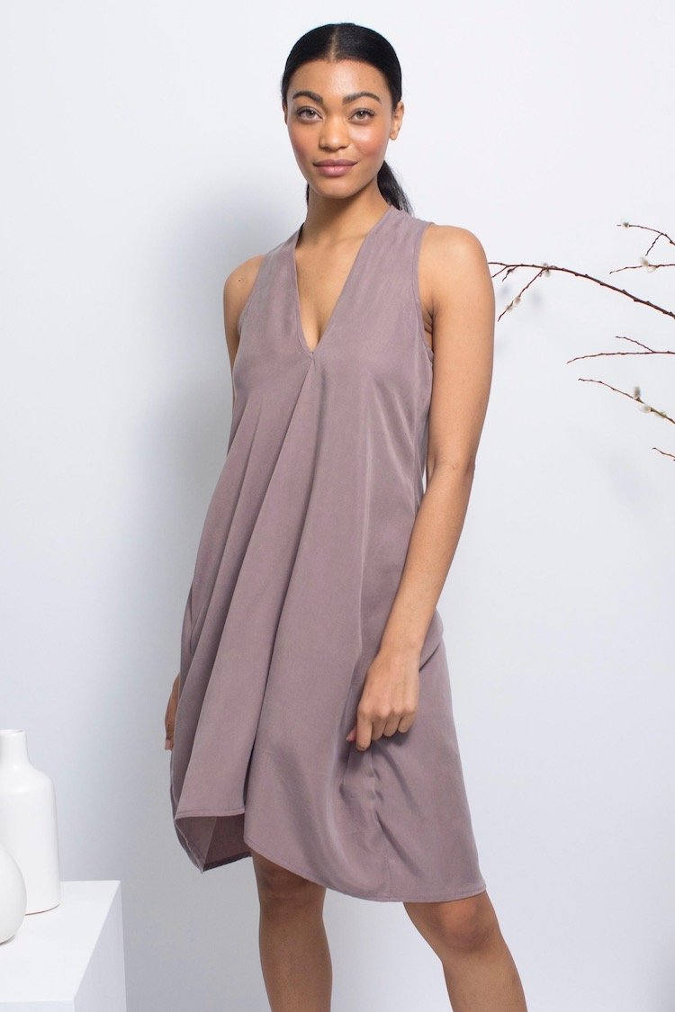Natalie Busby Tencel Cocoon Dress