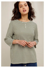 Load image into Gallery viewer, People Tree Livia Stripe Top