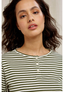 People Tree Livia Stripe Top