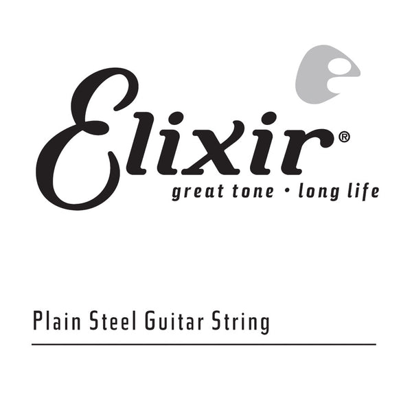 4pk Elixir Plain Steel .010   Anti-Rust Treated