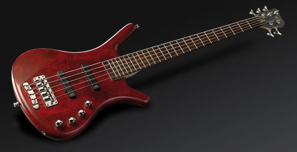 RB Corvette Basic 5 Red Oil   Fretted  PASSIVE MEC JJ