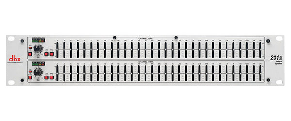 Dual 31 Band Graphic Equalizer