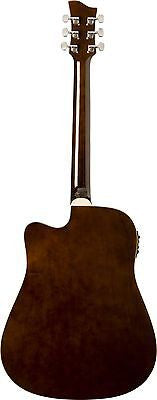 Jay Turser jta-454-qcet-tsb  Acoustic-electric Guitar, Tobacco Sunburst