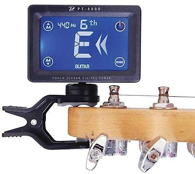 Profile PT-4000 USB Rechargeable Clip-On Headstock Tuner
