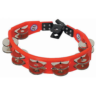New LP Cyclops® Jingle Tambourine, Drum Set, Red, Mountable LP161 Drum Set