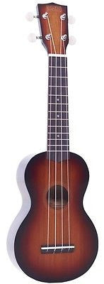 Mahalo Java Series Ukulele, 3 Tone Sunburst with Gig Bag
