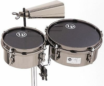 LP Latin Percussion John Dolmayan Mini Timbales with Cowbell and Mount Pack
