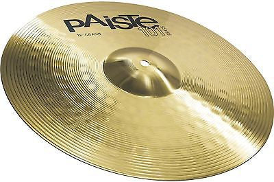 "New! Paiste 101 Series 16"" Crash Cymbal"