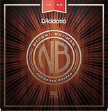 D'Addario Nickel Bronze Acoustic Guitar Strings, Medium