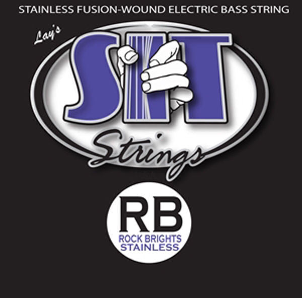 New SIT SRB630125L Fused Rock Bright Stainless Steel Bass 6-String Light $40 off