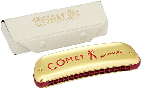 Hohner 2503 Comet Harmonica, Key Of C Major