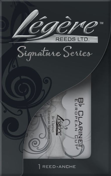 New! Legere Bb Clarinet European Signature Reed - Strength 2.5 - Ships fast!