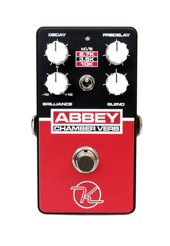 New! Keeley Abbey Chamber Verb - Vintage Reverb - US Handmade - Powerful Effect