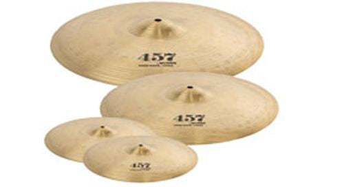 "New! Wuhan 457 Brilliant Finish & Tone Cymbal Set 16"" Crash 20"" Ride 14"" HiHats"
