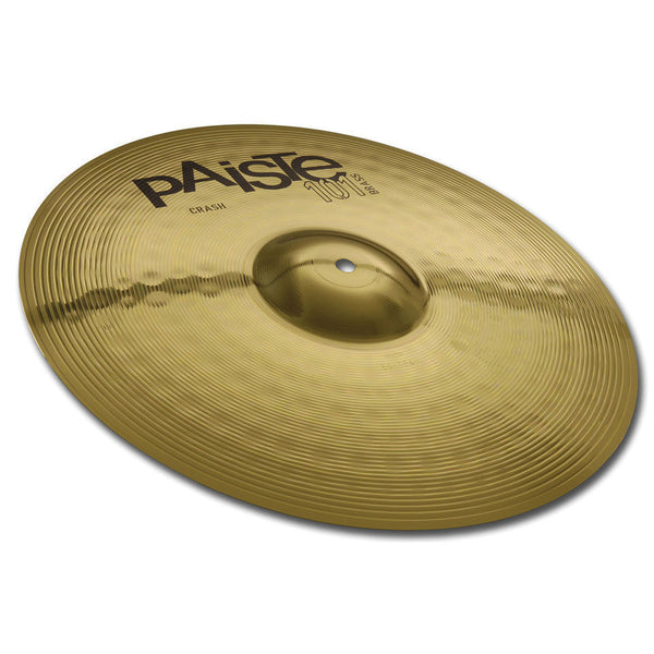 "NEW Paiste 14"" 101 Crash Cymbal - Dark - Full - Lively Beat - Made in Germany"