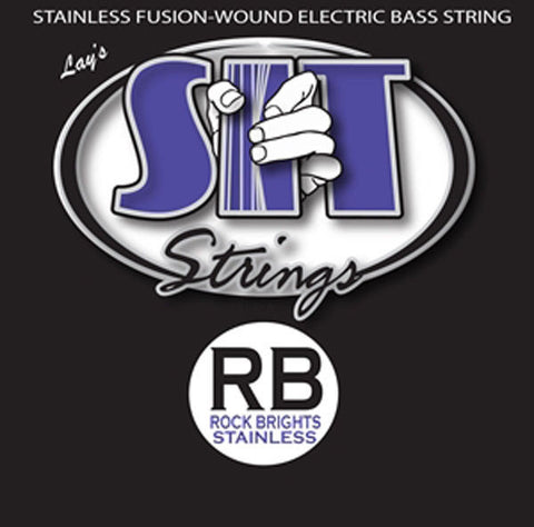 SIT Stay in Tune Rock Bright SRB45105L Stainless Bass 4-String Light Strings