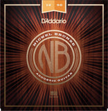 New 12-56 D'Addario Premium Nickel Bronze Acoustic Guitar Strings Lt Top-Med Bot